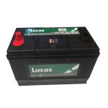 Batterie de démarrage Poids Lourds et Agricoles Lucas Premium D31 LP312 12V 105Ah / 920A
