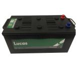 Batterie de démarrage Poids Lourds et Agricoles Lucas Premium DIN C/M16D LP624 12V 210Ah / 1250A