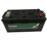 Batterie de démarrage Poids Lourds et Agricoles Lucas Premium DIN C/M16G LP625 12V 200Ah / 1050A