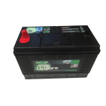 Batterie de démarrage Loisirs/Camping-cars Lucas Marine Starter GR31 LL30 12V 105Ah / 750A