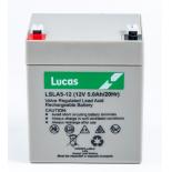 Batterie Plomb étanche Stationnaire Lucas VRLA AGM  LSLA5-12 12V 5Ah