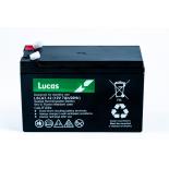 Batterie Plomb étanche Stationnaire Lucas VRLA AGM  LSLA7-12 12V 7Ah