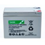 Batterie Plomb étanche Stationnaire Lucas VRLA AGM  LSLA10-12 12V 10Ah