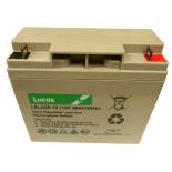 Batterie Plomb étanche Stationnaire Lucas VRLA AGM  LSLA20-12 12V 20Ah