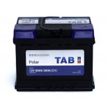 Batterie de démarrage TAB Polar S L2 S60H 12V 60Ah 500A