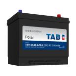Batterie de démarrage TAB Polar S D23L S60J 12V 60Ah 500A