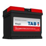 Batterie de démarrage TAB Magic Car L1B M54 12V 55Ah 510A