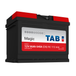 Batterie de démarrage TAB Magic Car L2 M66H 12V 66Ah 650A