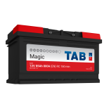 Batterie de démarrage TAB Magic Car L4B M85 12V 85Ah 800A