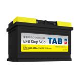 Batterie de démarrage TAB Start&Stop EFB L3B SG65 12V 65Ah 650A