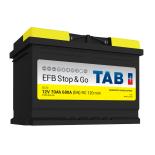 Batterie de démarrage TAB Start&Stop EFB L3 SG70 12V 70Ah 680A