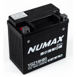 Batterie moto Numax Supreme GEL Harley  YGZ14H-BS 12V 14Ah 240A