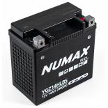 Batterie moto Numax Supreme GEL Harley  YGZ14HL-BS 12V 14Ah 240A