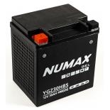 Batterie moto Numax Supreme GEL Harley  YGZ30H-BS 12V 30Ah 490A