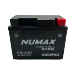 Batterie moto Numax Premium AGM   YT4LBS  12V 4Ah 50A