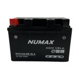 Batterie moto Numax Premium AGM  YT12ABS / YTX12A-BS SLA 12V 10Ah 175A