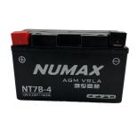Batterie moto Numax Premium AGM  YT7B-4 12V 6Ah 110A
