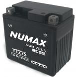 Batterie moto Numax Premium AGM  YTZ7S 12V 6Ah 130A