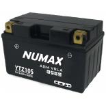 Batterie moto Numax Premium AGM  YTZ10S 12V 8.6Ah 190A