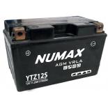 Batterie moto Numax Premium AGM  YTZ12S 12V 11.2Ah 210A