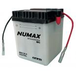 Batterie moto Numax Standard avec pack acide  6N4-2A-4 6V   4Ah 35A