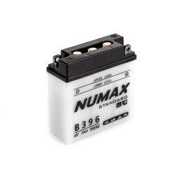 Batterie moto Numax Standard avec pack acide  B39-6 6V   7Ah 70A