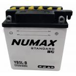 Batterie moto Numax Standard avec pack acide  YB5L-B 12V 5Ah 60A