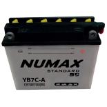 Batterie moto Numax Standard avec pack acide  YB7C-A 12V 8Ah 104A