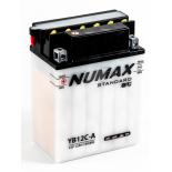 Batterie moto Numax Standard avec pack  YB12C-A 12V 12Ah 150A