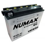 Batterie moto Numax Standard avec pack acide  YB16AL-A2 12V 16Ah 210A