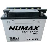 Batterie moto Numax Standard avec pack acide  YB16L-B 12V 19Ah 215A