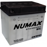 Batterie moto Numax Standard avec pack acide  Y60-N30L-A / 53030 12V 28Ah 280A