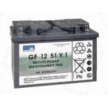 Batterie Gel SONNENSCHEIN GF Y  12 VOLTS GF12051Y1 L3 12V 56AH  AMPS (EN)