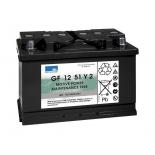 Batterie Gel SONNENSCHEIN GF Y  12 VOLTS GF12051Y2 L3 12V 56AH  AMPS (EN)