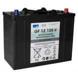 Batterie Gel SONNENSCHEIN GF V  12 VOLTS GF12105V H13D/WOR7 12V 120AH  AMPS (EN)