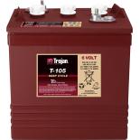 Batterie TROJAN PLAQUES EPAISSES T105 GC2 6V 225AH  AMPS (EN)