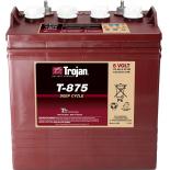 Batterie  TROJAN PLAQUES EPAISSES T875 GC8 8V 170AH  AMPS (EN)