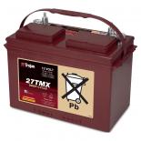 Batterie  TROJAN PLAQUES EPAISSES 27TMX 27 12V 105AH  AMPS (EN)