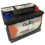 Batterie AUTOPRO 1er prix SMF AR-L2B  60AH 500 AMPS 248x175x175 +D