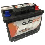 Batterie AUTOPRO 1er prix SMF AR-L2  60AH 500 AMPS 248x175x190 +D