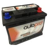 Batterie AUTOPRO 1er prix SMF AR-L2+  66AH 620 AMPS 242x175x190 +D