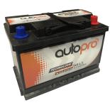 Batterie AUTOPRO 1ier prix SMF AR-L3  70AH 640 AMPS 278x175x190 +D