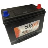 Batterie AUTOPRO 1er prix SMF AR-M10D  70AH 600 AMPS 261x175x220 +D