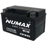 Batterie moto Numax Premium Numax Scellé AGM  YTX7A-BS  SLA 12V 7Ah 135A
