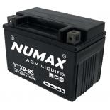 Batterie moto Numax Premium Numax Scellé AGM  YTX9-BS  SLA 12V 8Ah 135A