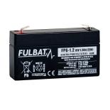 Batterie FULBAT  AGM  plomb étanche - FP6-1.2 (T1) 6 Volts 1,2 Amps