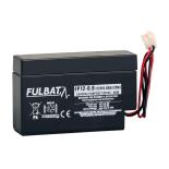 Batterie FULBAT  AGM  plomb étanche FP12-0.8 (JST) 12 volts 0,8 Amps