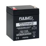 Batterie FULBAT  AGM  plomb étanche FP12-5.4 (T2) 12 volts 5,4 Amps