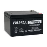 Batterie FULBAT  AGM  plomb étanche FP12-12 (T2) 12 volts  12 Amps
