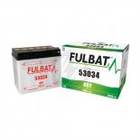 Batterie Moto FULBAT 53034 12V 30H 300A + Gauche (avec entretien)